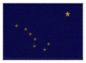 Nášivka Alaska vlajka