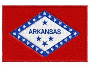 Nášivka Arkansas vlajka