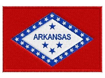 Arkansas vlajka am. státu