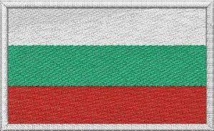 Nášivka Bulharská vlajka