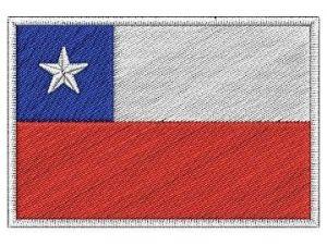 Nášivka Chilská vlajka