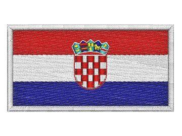 Nášivka Chorvatská vlajka