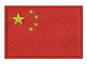Nášivka Čínská vlajka