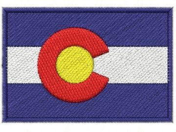 Nášivka Colorado vlajka am. státu