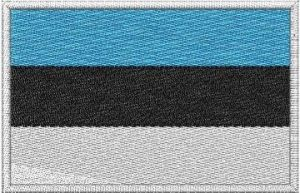 Nášivka Estonská vlajka