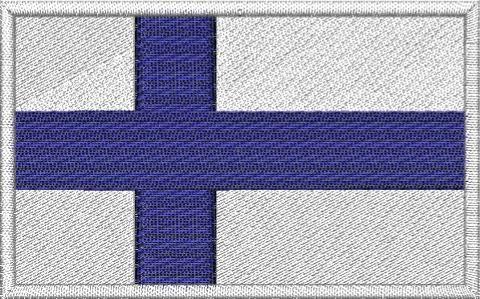 Nášivka Finská vlajka