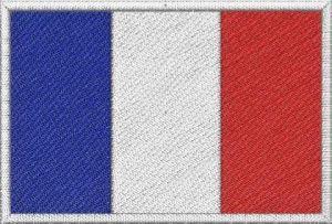 Nášivka Francouzská vlajka