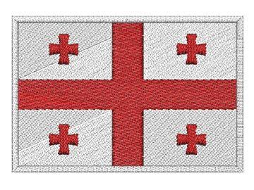 Nášivka Gruzijská vlajka