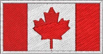 vyšívaná vlajčka
