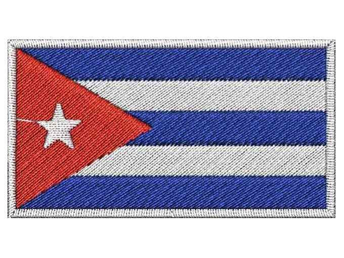 Nášivka Kubánská vlajka