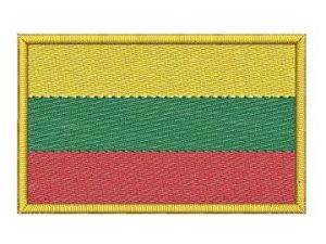 Nášivka Litevská vlajka