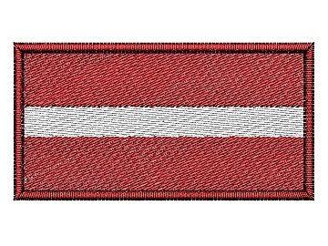 Nášivka Lotyšská vlajka