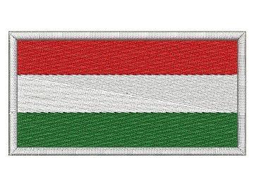 Nášivka Maďarská vlajka Pelisport