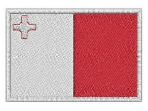 Nášivka Maltská vlajka