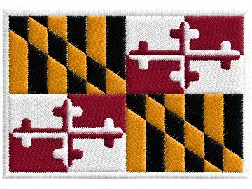 Maryland vlajka am. státu Pelisport