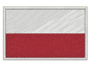 Nášivka Polská vlajka