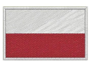Nášivka Polská vlajka Pelisport