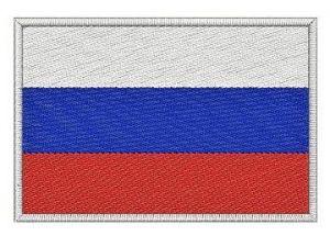 Nášivka Ruská vlajka