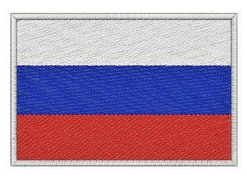 Nášivka Ruská vlajka Pelisport