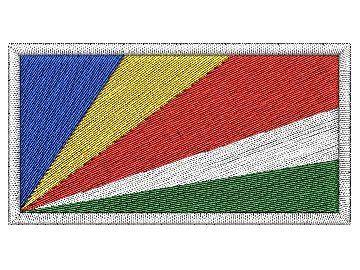 Nášivka Seychelská vlajka