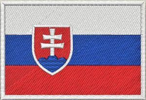 Nášivka Slovenská vlajka