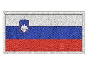Nášivka Slovinská vlajka