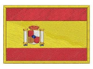 Nášivka Španělská vlajka