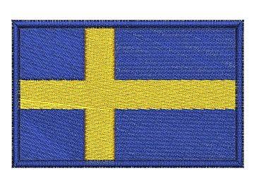 Nášivka Švédská vlajka