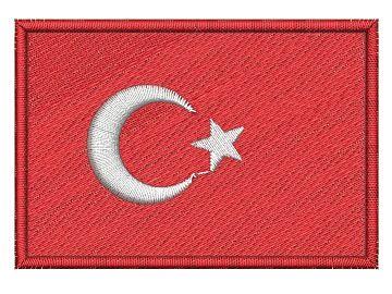 Nášivka Turecká vlajka