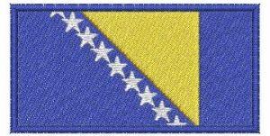 Nášivka Vlajka Bosny a Hercegoviny