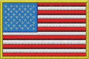 Nášivka Vlajka USA