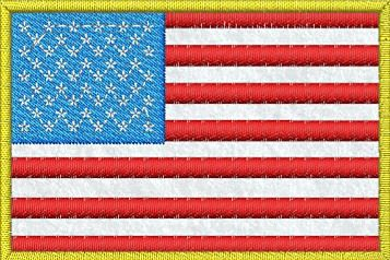 Nášivka Vlajka USA - filc