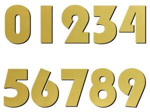 02 font Blippo zlatý plast