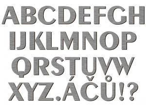 Písmena typ P05 - 1 ks