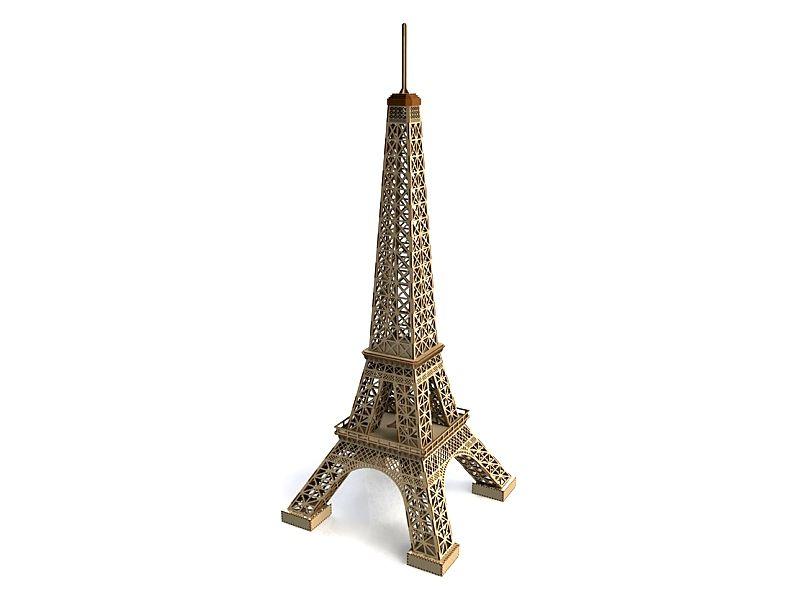 Eiffelova věž - 3D puzzle