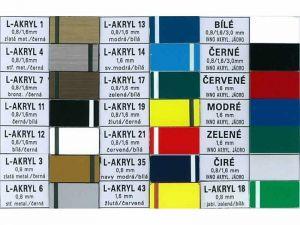 barevné kombinace plastu
