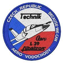 Nášivka Aero Vodochody