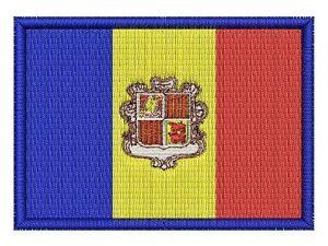 Nášivka Andorská vlajka