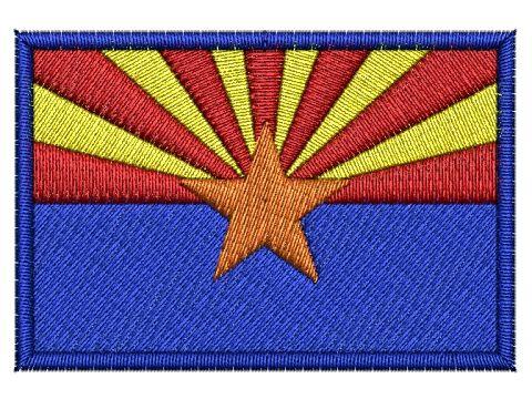 Nášivka Arizontská vlajka