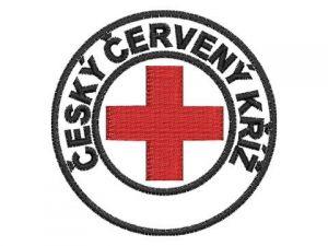 Nášivka Český červený kříž