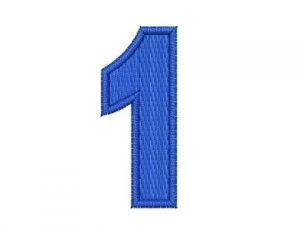 Nášivka čísla 1