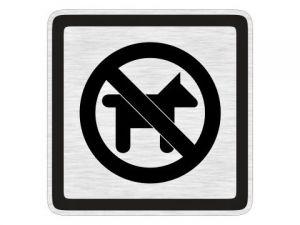 Piktogram zákaz vstupu psů