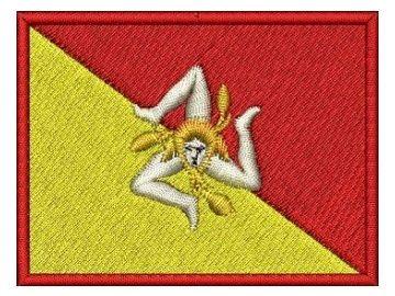 Nášivka Sicilská vlajka