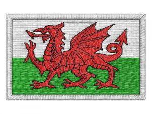 Nášivka Welská vlajka