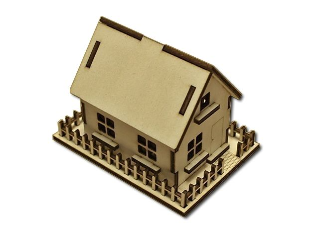 3D skládačka domečku