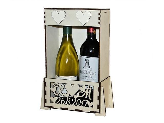krabice na 2 vína