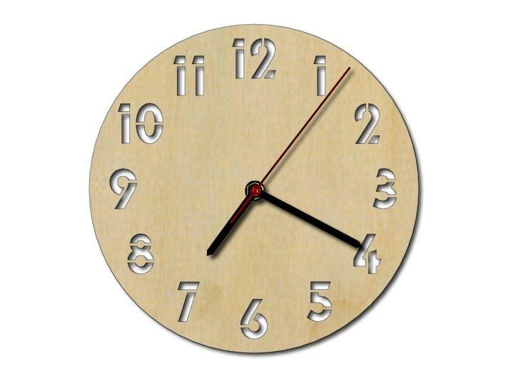 Vyřezávané hodiny