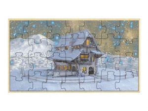 Puzzle Zimní krajina