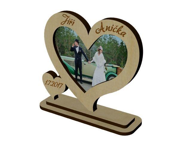 svatební fotorámeček
