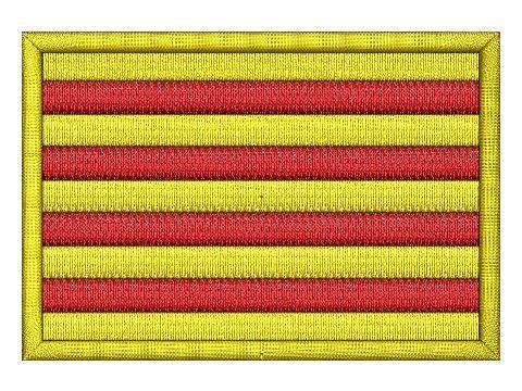 Nášivka Katalánská vlajka